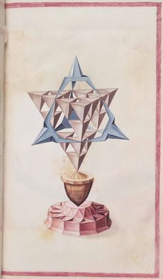 Geometric Perspective: From a rather obscure 16th century anonymous paper manuscript (via Bibliodyssey)