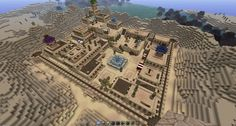 Desert Town - Screenshots - Show Your Creation - Minecraft Forum Minecraft Building Guide, Minecraft City, Minecraft Construction, Minecraft Videos, Minecraft Blueprints, Minecraft Designs, Minecraft Creations, How To Play Minecraft, Minecraft Structures