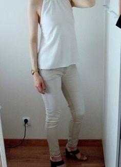 Kup mój przedmiot na #vintedpl http://www.vinted.pl/damska-odziez/bluzki-bez-rekawow/18799552-wymiana-60-zl-nowy-metka-top-bluzka-asos-kolia-choker-biala-zlota-34-36