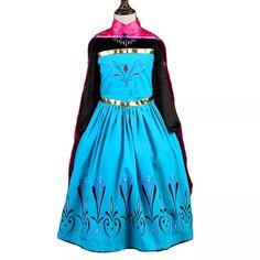 costume Principessa Elsa Frozen Disney vestito maschera carnevale  travestimento bambina 6e2d4e758c4