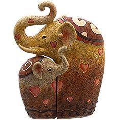 Figura elefanta con su cría