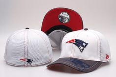 NFL New England Patriots Team Logo Size Hat Peaked Cap Baseball Hats Size  S-M and L-XL 6b508565841e