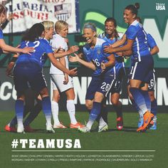 CONGRATS to all 23 members of the #USWNT who will represent #TeamUSA at the 2015 FIFA Women's World Cup! #GoTeamUSA Us Soccer, Soccer Players, Team Usa, A Team, World Cup Champions, Fifa Women's World Cup, Usa Sports, Soccer Training, Athlete
