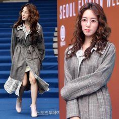 "229 Likes, 1 Comments - T♔ARA - 티아라 (@t_aratastic) on Instagram: ""180324 #seoulfashionweek Eunjung Lang & Lu Seoul Fashion Week #eunjung #은정 __ #티아라 #TARA …"""