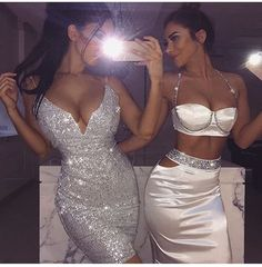 glitter and glamour Mode Outfits, Sexy Outfits, Sexy Dresses, Cute Dresses, Prom Dresses, Fashion Outfits, Sexy Party Outfit, Baddie Outfits Party, Bad And Boujee Outfits