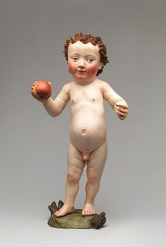 Christ Child with an Apple ca. 1470–80 Made in Ulm, Germany