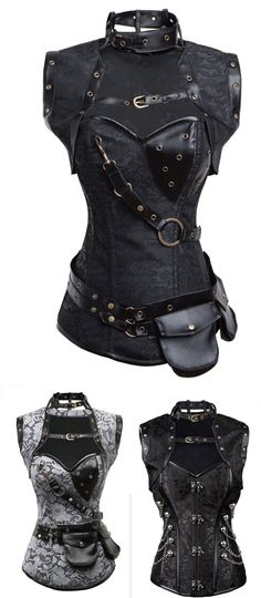 Shop steampunk overbust bodice corsets for women at RebelsMarket!
