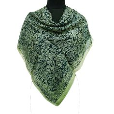 100% Pure Silk light weighted Scarf.