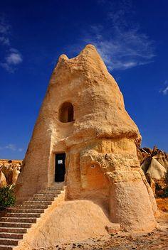 Stunning Picz: El Nazar church - Cappadocia,Turkey https://www.pinterest.com/AnkAdesign/archi-in-lasting-time/