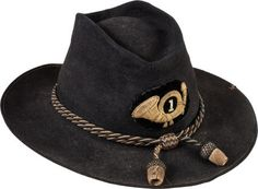 Civil War Officer's Slouch Hat with Original Insignia....