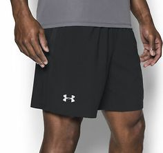 Under Armour Launch SW 7 Inch Mens Running Shorts - Black Mens Running, Running Shorts, Mens Gym Shorts, Nike Acg, Training Tops, Nike Flex, Mens Fitness, Under Armour, Product Launch