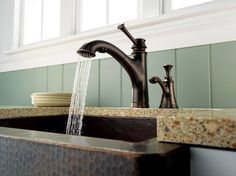 The Baliza® faucet from Brizo boasts a single-handle lever design based on the shape and form of a lighthouse.