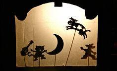 Make a shadow puppet theatre - Kidspot