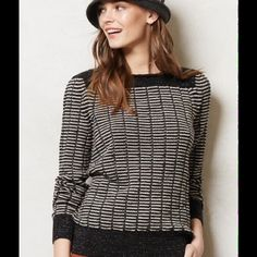 ISO Anthropologie Cultivated Jacquard Pullover M Looking for a medium. It's by Sita Murt. Tag me if you have one/see one :) Anthropologie Sweaters