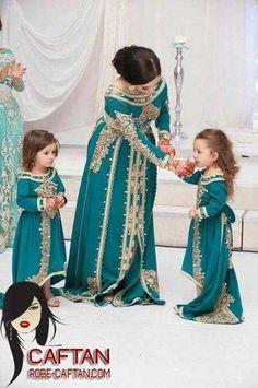 Caftan pour les femmes et aussi une collection pour les petites filles 2017  Caftan Fille 5e350da462a