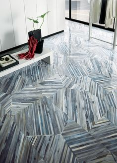Kauri porcelain tile by Artistic Tile made to look like the wood from New Zealand's ancient Kauri tree Floor Patterns, Wall Patterns, Decoration Inspiration, Interior Inspiration, Floor Design, Tile Design, Design Art, Artistic Tile, Floor Ceiling