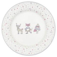 GreenGate_Kinderbord_Kids_Plate_Forrest_Lavender Kids Plates, D 20, Decorative Plates, Lavender, Kitchen Stuff, Home Decor, Meal, Kawaii, Essen