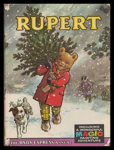 Rupert Bear Annual 1965 - got one for Christmas every year as a child - MishMash - Deep Nostalgia 1970s Childhood, My Childhood Memories, Childhood Toys, Vintage Children's Books, My Memory, Vintage Christmas, Christmas Toys, Childrens Books, Photos