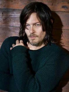 """""""Hey. I'm Daryl Reedus. I'm 20.  I've got the bad boy look. I guess you can say I am in some ways. But yeah. I'm normally found in the back of the room, away from people. They don't tend to give me a chance. I don't like talking about myself."""""""