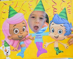 bubble guppies birthday party ideas - Google Search