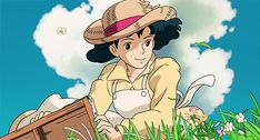 Studio Ghibli, The Wind Rises, Hayao Miyazaki Studio Ghibli Art, Studio Ghibli Movies, Hayao Miyazaki, Le Vent Se Leve, Wind Rises, Fanart, Estilo Anime, Cool Animations, Aesthetic Gif