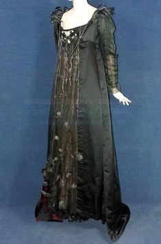 Becky's black dress from Vanity Fair.