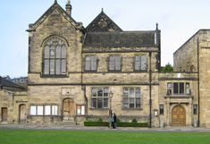 The nineteenth-century building designed as the University Library by Anthony Salvin. Green Library, St Johns College, Durham Cathedral, Building Design, World Heritage Sites, Palace, Cities, University, England
