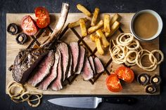 1.2KG Tomahawk Steak... Could you take on this challenge? #foodie
