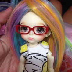 Eye Glasses for Lati Yellow CC RECTANGLE by MagicTailor on Etsy