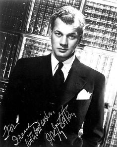 Joseph Cotton. One of my absolute favorite classic actors.