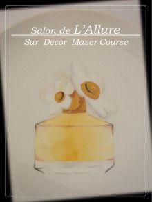 *シュールデコール* マスタークラス♥香水瓶|シルクフラワー&シュールデコール&ポーセラーツ名古屋教室『Salon de L'Allure』