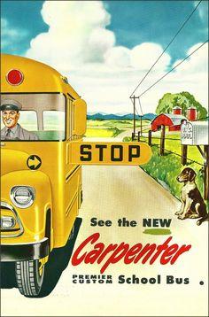 Carpenter School Bus, 1950s
