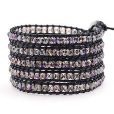 Victoria Emerson Wrap Bracelet - Sunset Lavender Hint