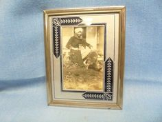 F412 1930's Art Deco Reverse Glass Frame w A Girl Kitty on Lap Dog Escapes   eBay