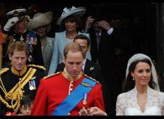April 2011 at the Royal Wedding