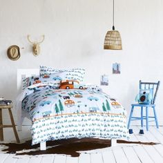 boys quilt cover clouds - Google Search