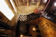 Kensington Palace. I love the stairs