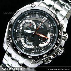 BUY Casio Edifice 3D Shield Chronograph EF550D, EF-550D-1AV - Buy Watches Online | CASIO NZ Watches