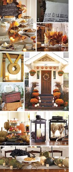 fall decorations for all over the house