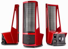 The Audiophiliac is shaken and stirred by the Martin Logan Neolith speakers. It'll cost you a pretty penny for this exotic ultra-high-end speaker.