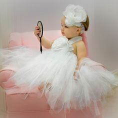 White TUTU Dress!! So Sweet!