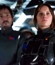 Cassian Andor and Jyn Erso | Rogue One new image.