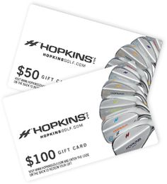 Get your favorite DAD a $50.00 or $100.00 gift card for a a customized wedge. He can go to Hopkinsgolf.com and can choose any design he wishes. Use code PIN10 for a $10.00 savings. He will receive free shipping and receive his gift within 3-4 days. Hopkinsgolf.com for tour quality wedges.
