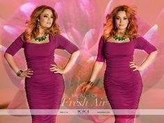 IGIGI by Yuliya Raquel's Renata Dress in Deep Fuschia