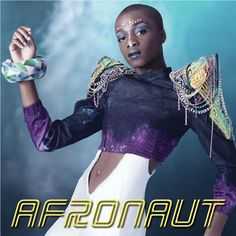 Afronaut- Album cover artwork for Afrofuture soundtrack- Art Direction/Fashion Styling by Earlecia Richelle