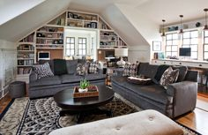Home Library Without Separate Room