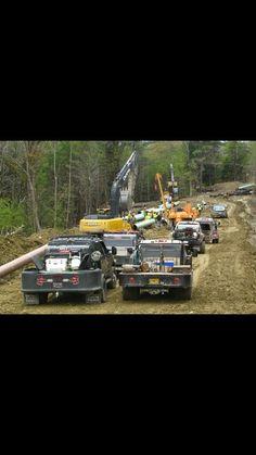 Custom Truck Beds, Custom Trucks, Pipeline Construction, Welding Beds, Welding Trucks, Cool Tools, Pickup Trucks, Rigs, Trailers