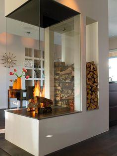 Камин в интерьере (140 фото): гостиная с камином - HappyModern