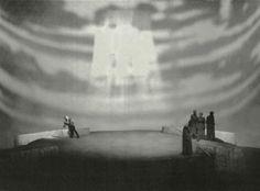 """"""" Das Rheingold """" 2.Bild 1953 Wieland Wagner  Bühnenphoto"""