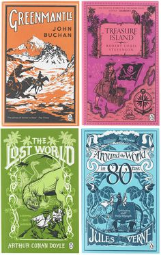 Boys' Adventure Coralie Bickford-Smith is perhaps most well-known for her Clothbound Classics Series one and two. However, I'm also really i...